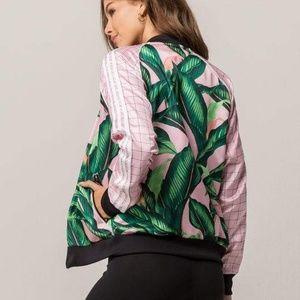 5c0b1f2db0556 adidas Tops | Nwt Originals Farm Big Leaf Track Top | Poshmark